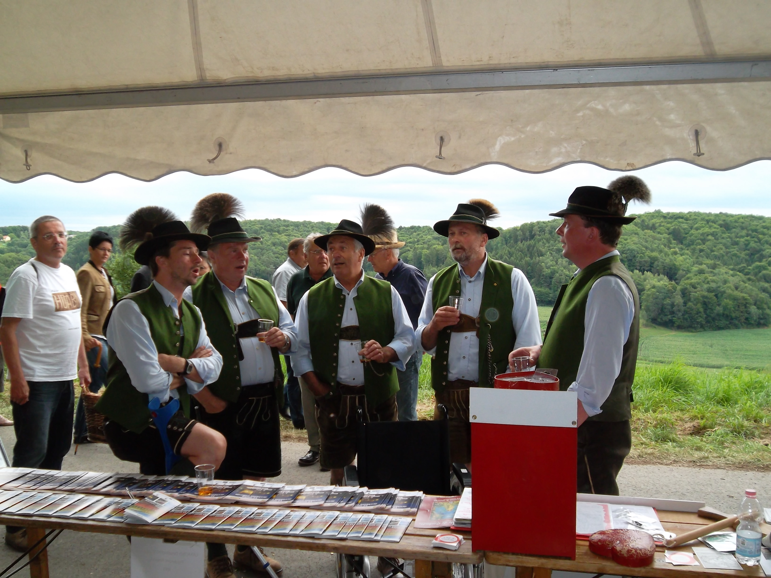 Piemonte Intangible Culture at the Austrian Schinkenfest